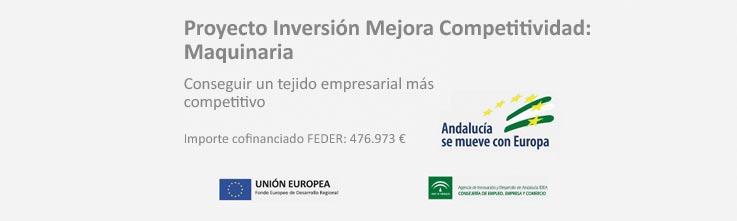 Noticias Proyecto Inversión Mejora Competitividad